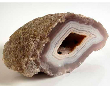 Photo of an agate geode