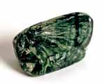Photo of seraphinite tumblestone