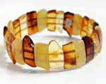 Photo of amber bar bracelet