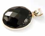 Photo of black onyx pendant