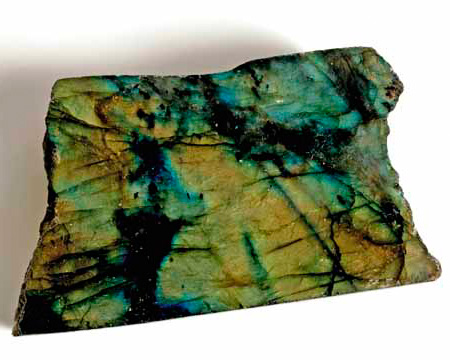 Photo of labradorite