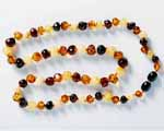 Photo of amber necklace
